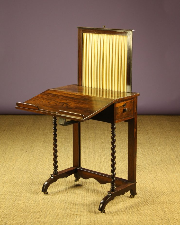 Fire Screen Desk