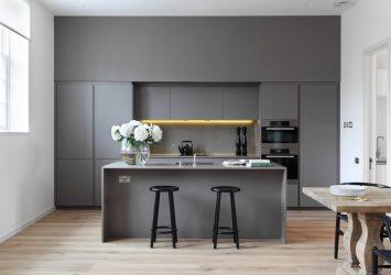 Muted Grey Kitchen