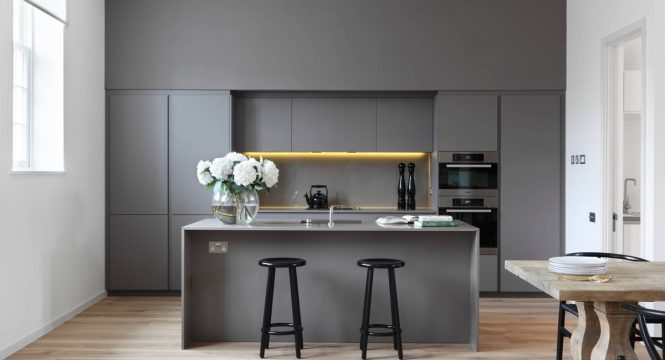 Muted Grey Kitchen