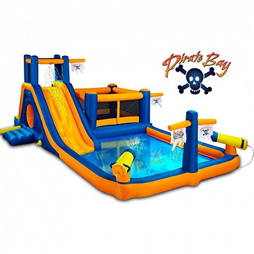 Pirate Bay Inflatable Combo Water Park and Bounce by Blast Zone