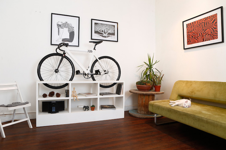 Bike on a Shelf