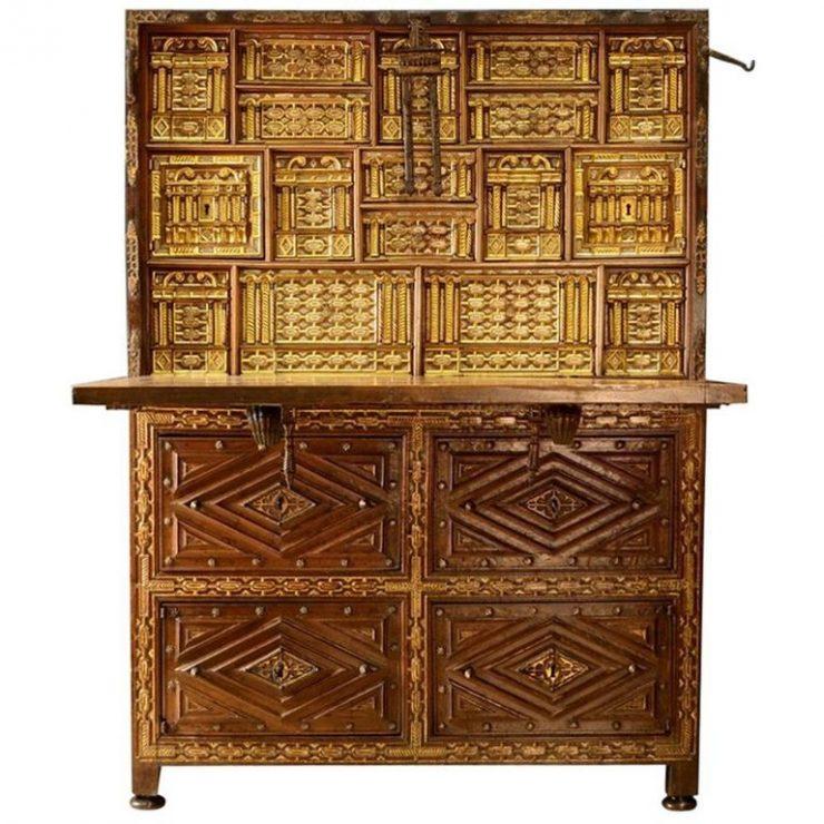 Bargueno Desk