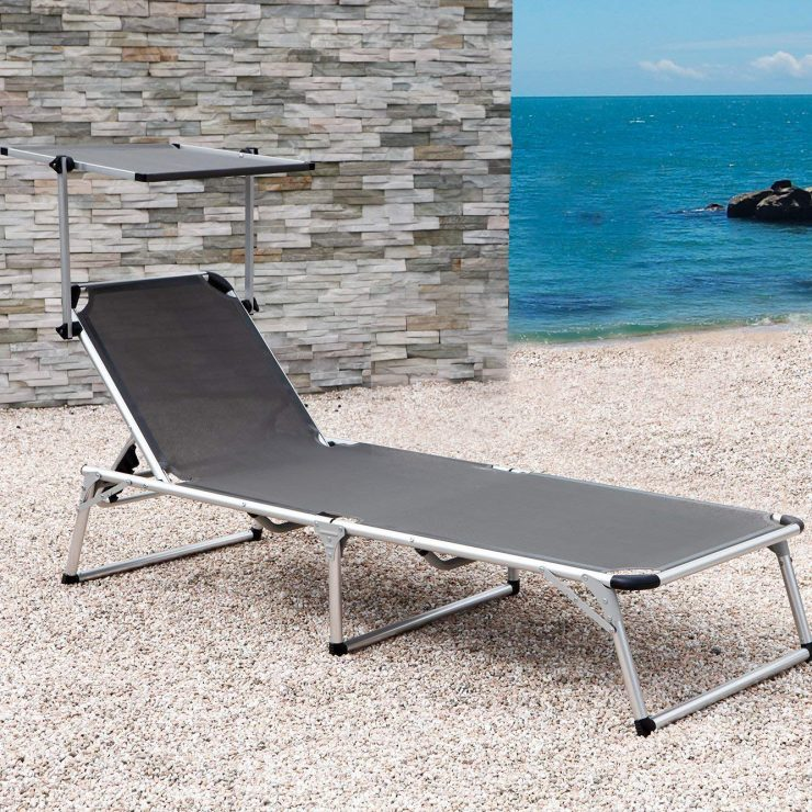 Beach Chaise Lounge by Grand Patio