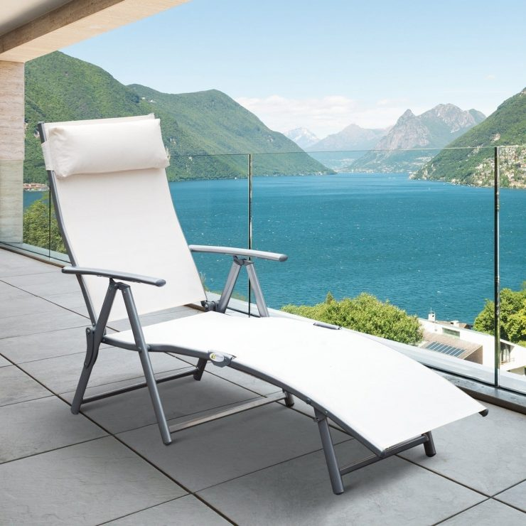 Outdoors Chaise Lounge by Outsunny