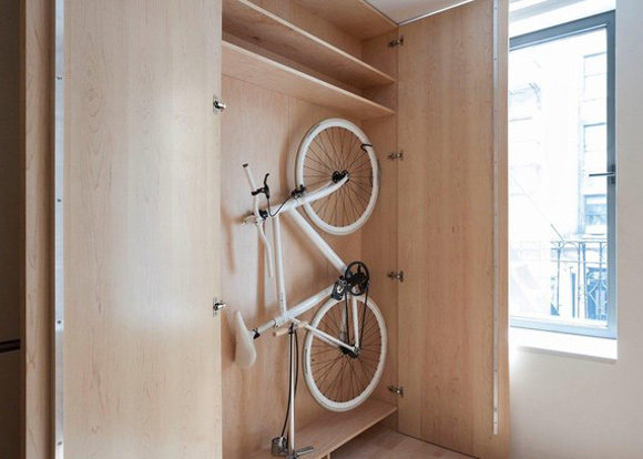 Bike in the Closet
