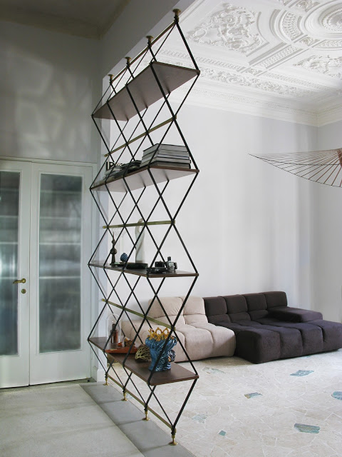 Bachelor Pad Geometric Room Divider