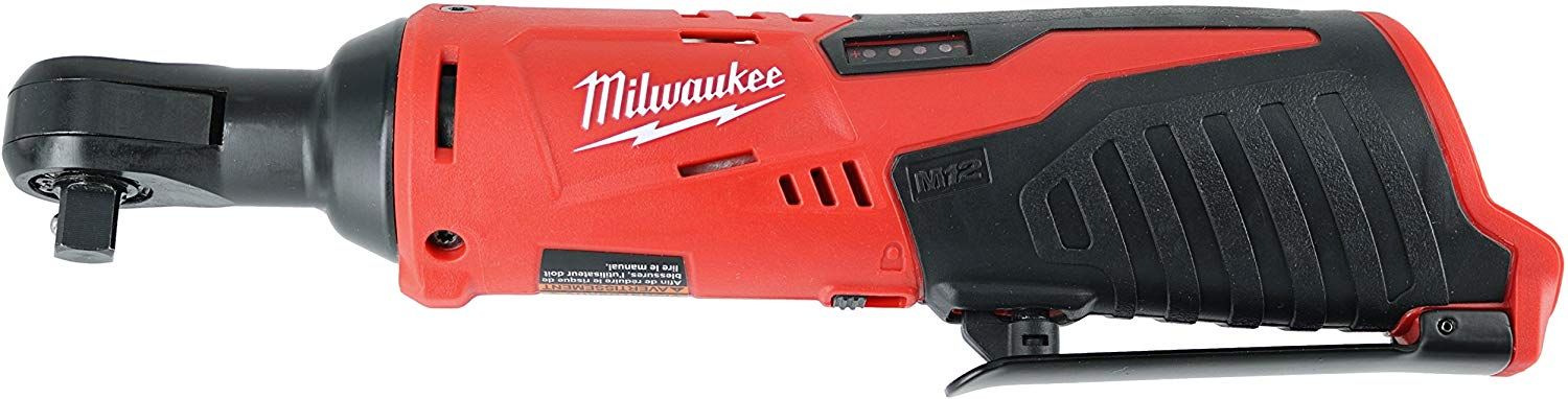 Best Battery Operated Ratchet: Milwaukee 2457-20 M12