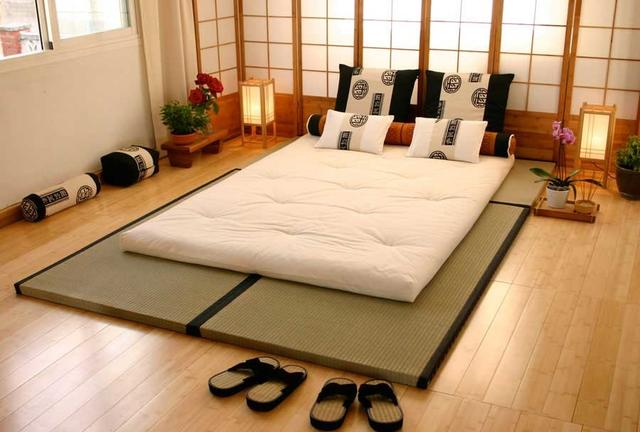Tatami Mat and Futon Bed