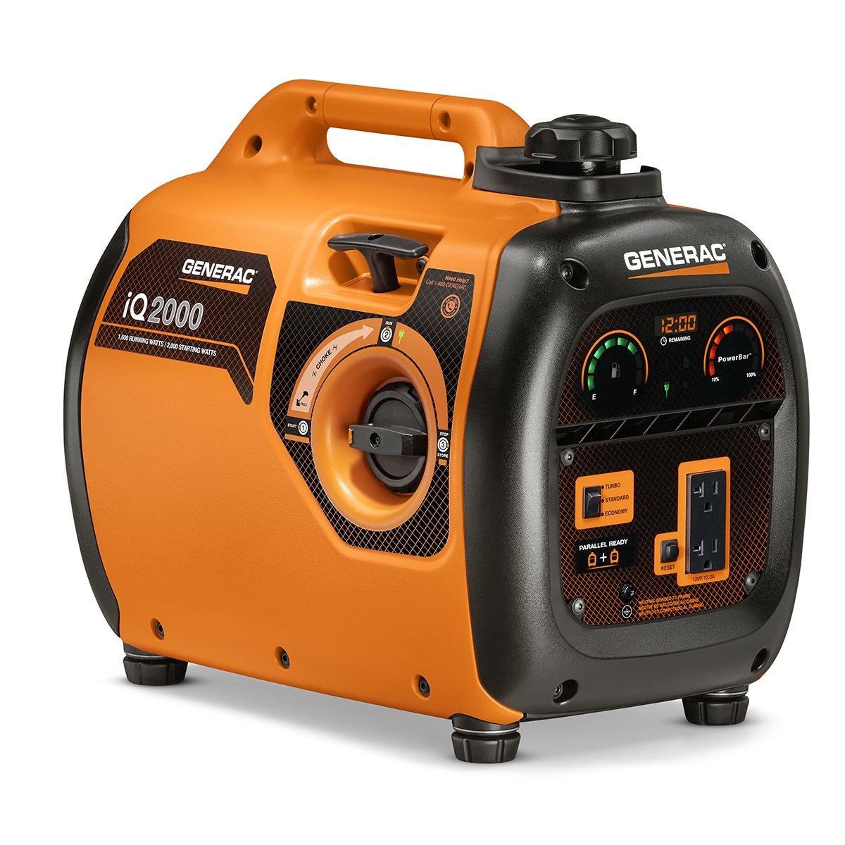 Best 2000 Watts Generator: Generac 6866 iQ2000