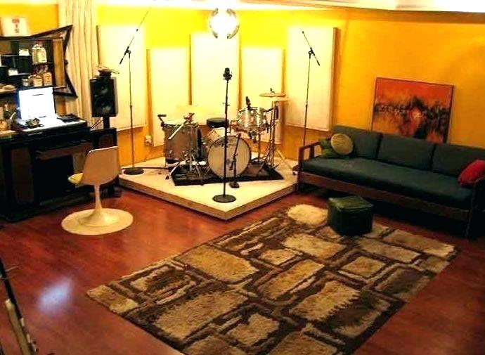 Home Studio with Comfortable Sofa
