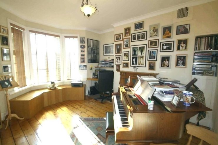 Music Room With a Much Used Piano