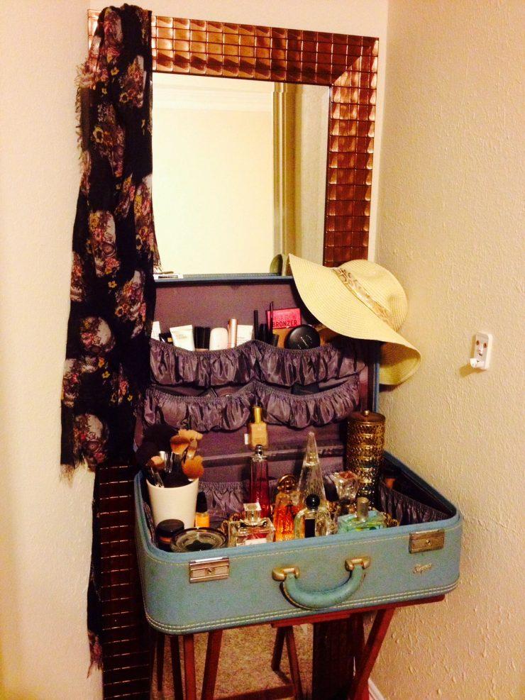 Suitcase Vanity