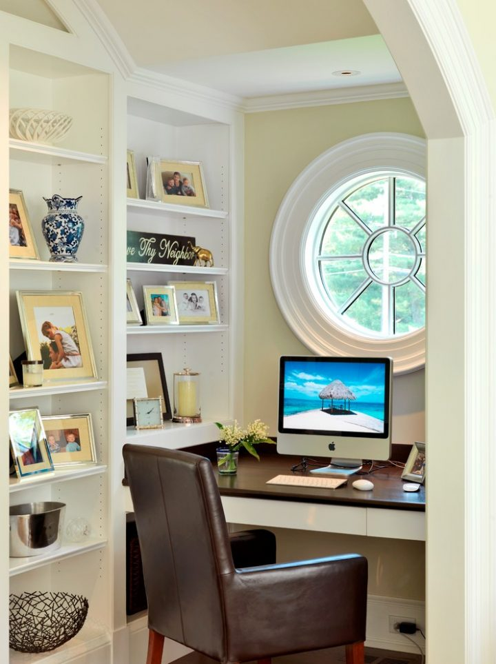 Dormer Window Home Office