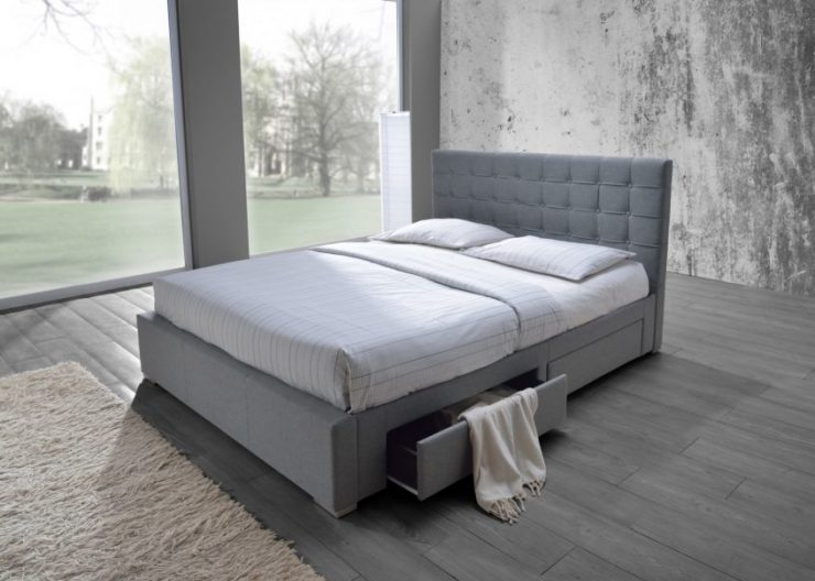 Bed with Drawers Minimalist