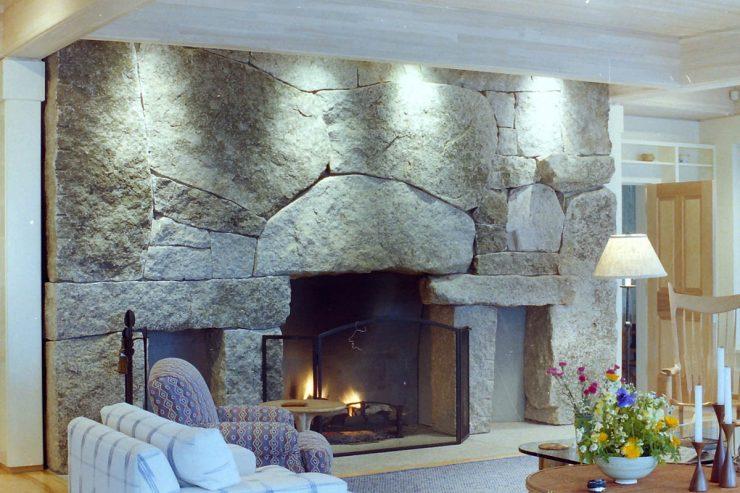Granite Slabs Fireplace