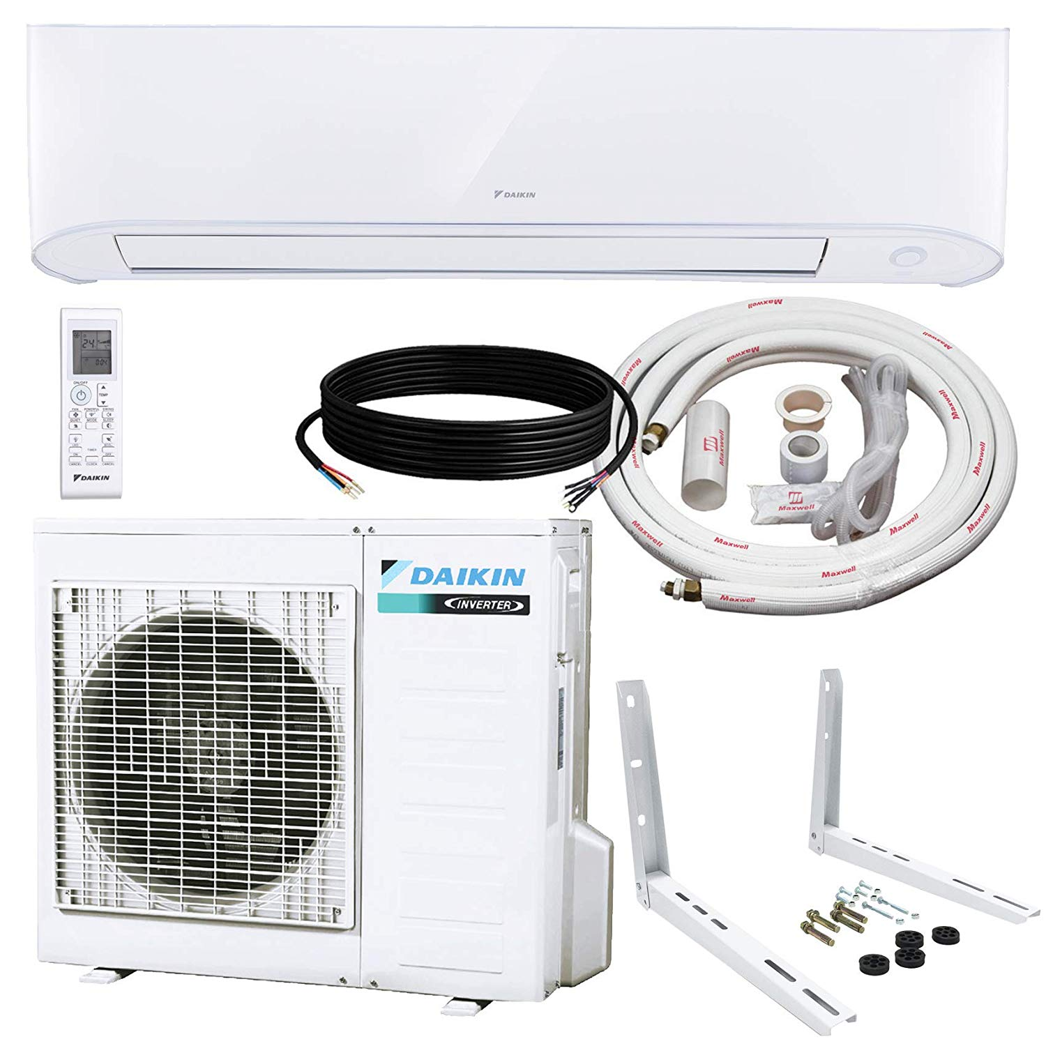 Best Heat Pump: Daikin 17 Seer Inverter