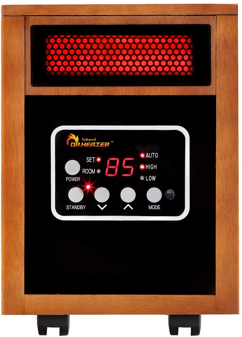 Best Heater for Winter: Dr Infrared Heater Portable