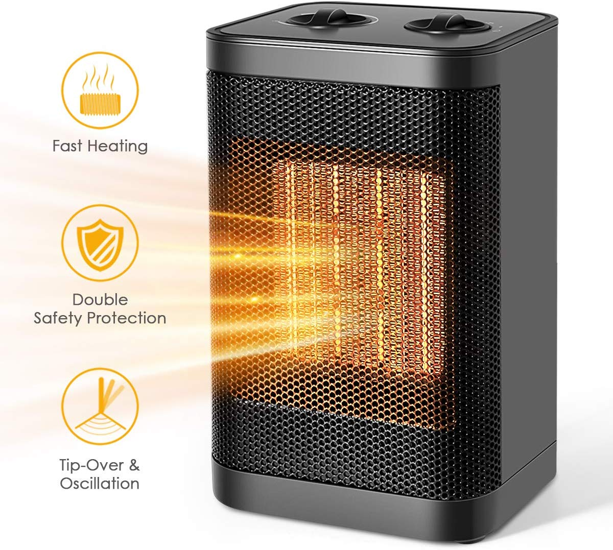 Best Heater for Winter: Mulandd Ceramic Space Heater