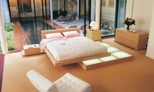 Modern Japanese Style Bedroom