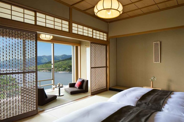 Japanese Bedroom with Sliding Doors