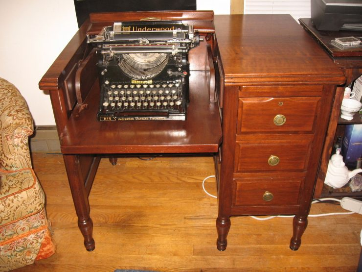 Typewriter Desk