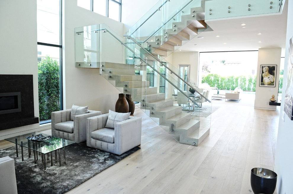 14 Glass Stair Railing Ideas For Your Home Housessive