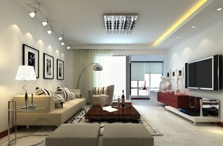 Ceiling Fixed Light Fixtures