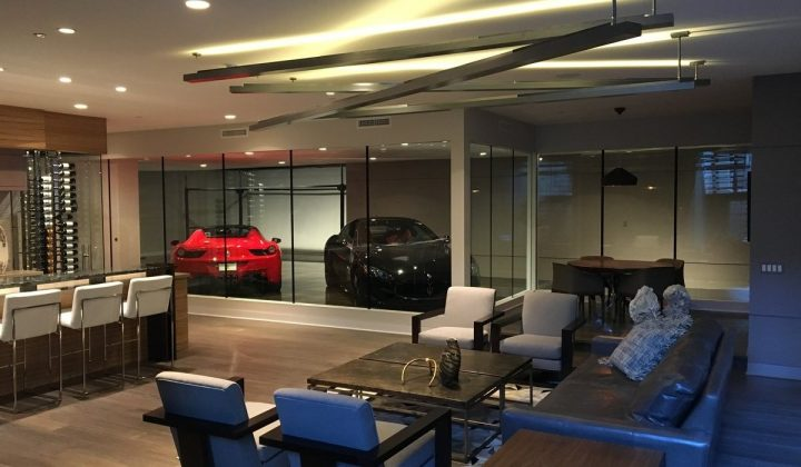 Man Cave with Garage