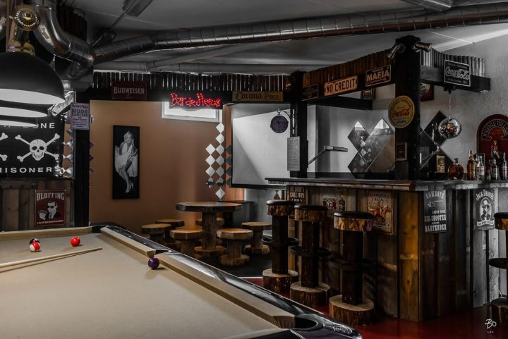 Man Cave as Rocker Bar