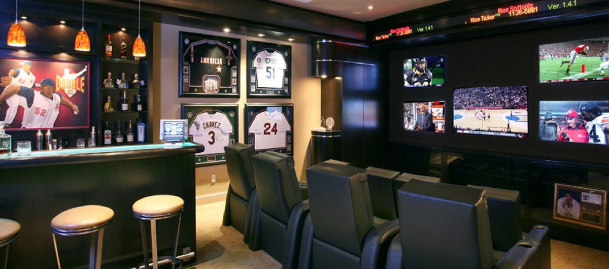 Man Cave Sports Bar