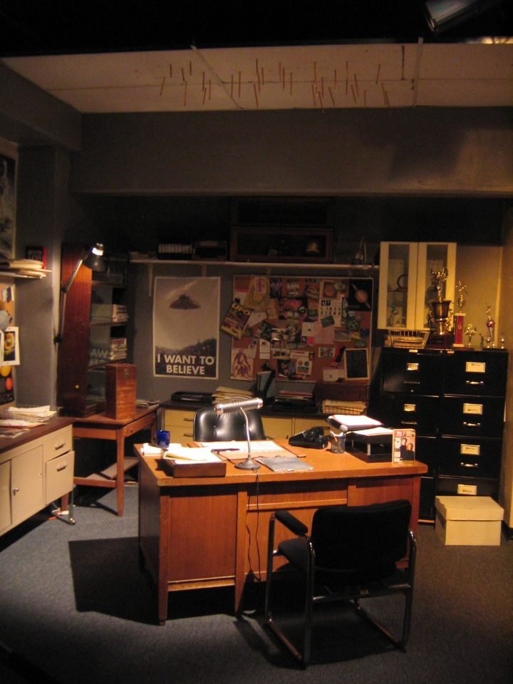 Man Cave Fox Mulder's Office from the X-Files