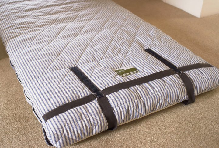 Camping Mat used as Mattress Alternative