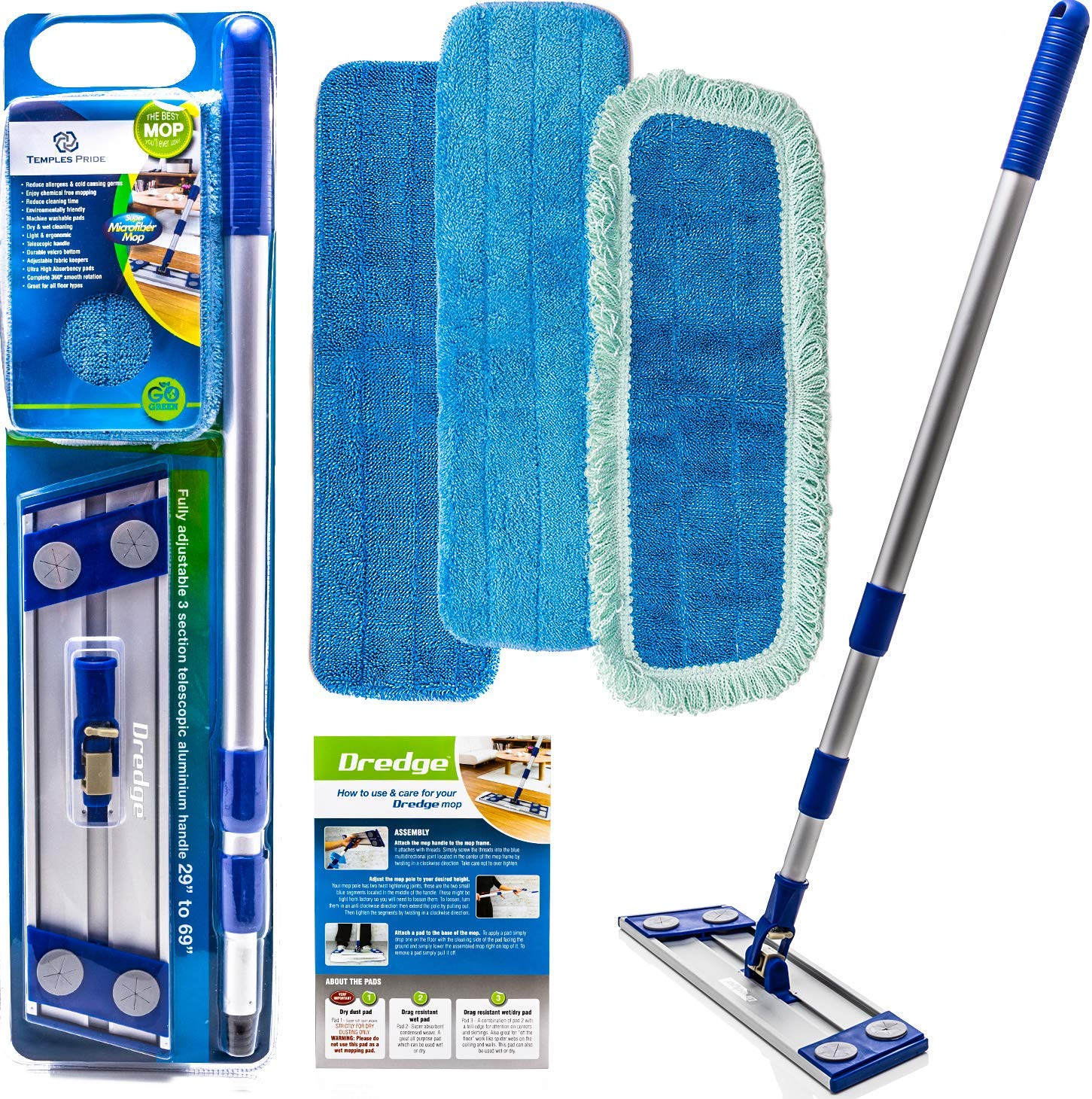 Best Microfiber Mop: Dredge All-in-One Kit