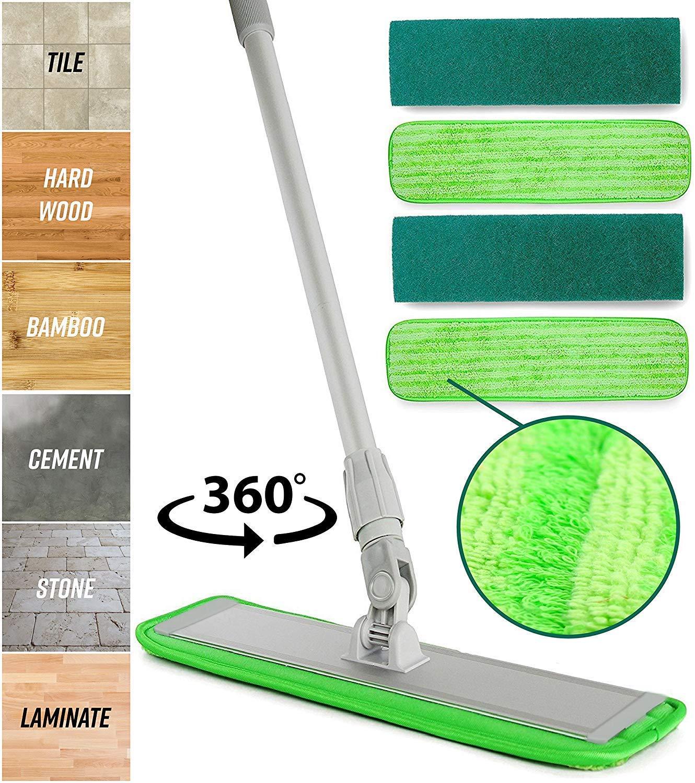 Best Microfiber Mop: TurboMops Microfiber Floor Cleaning System