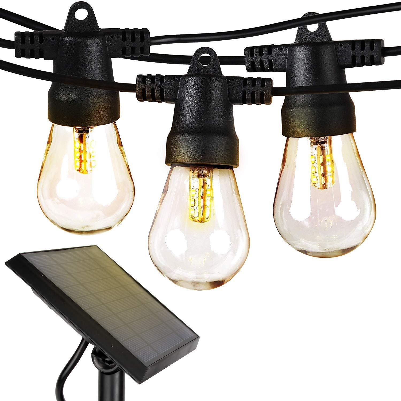 Best Outdoor Solar Light: Brightech Solar String Lights