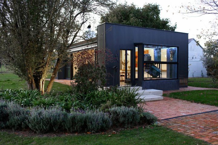 Modern Industrial-Style Pavilion