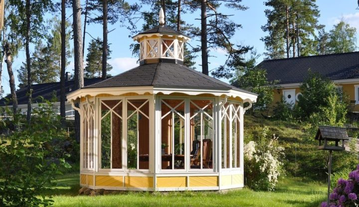 Scandinavian Style Garden Pavilion