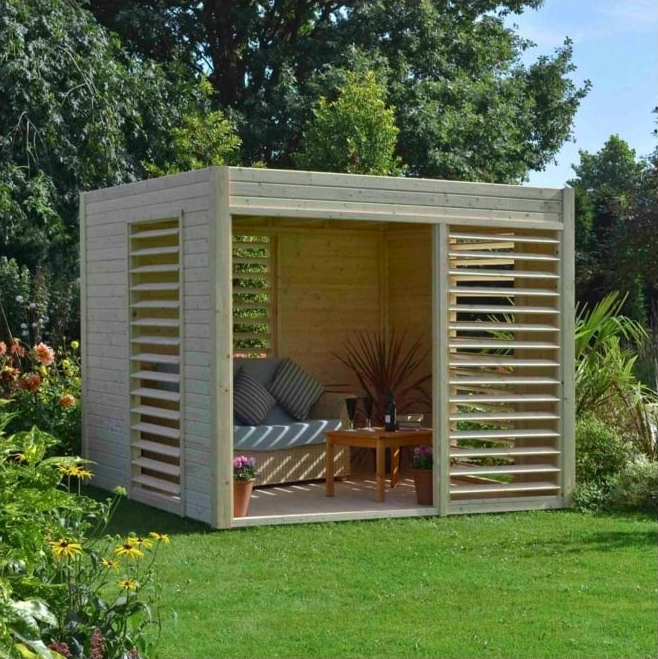 Small Box-Like Pavilion