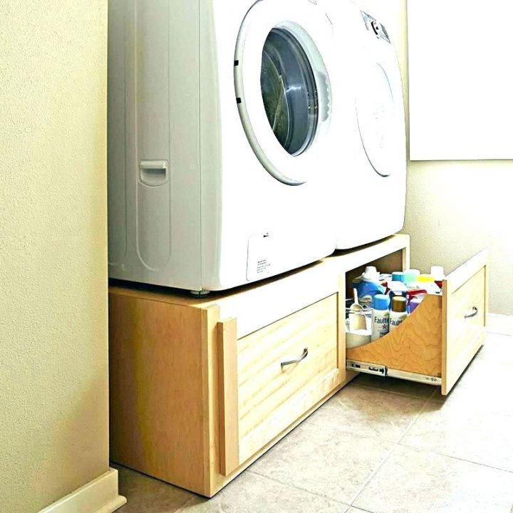 Set of Drawers Re-Used as Washer Pedestals