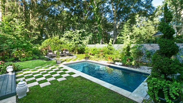 Inground Plunge Pool in Smallish Backyard