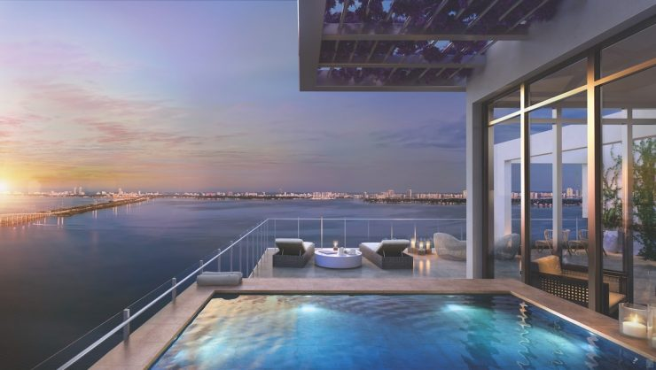 Plunge Pool on a Rooftop Terrace or Balcony