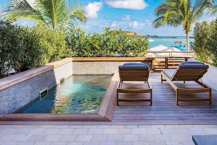 Plunge Pool on a Sun Terrace