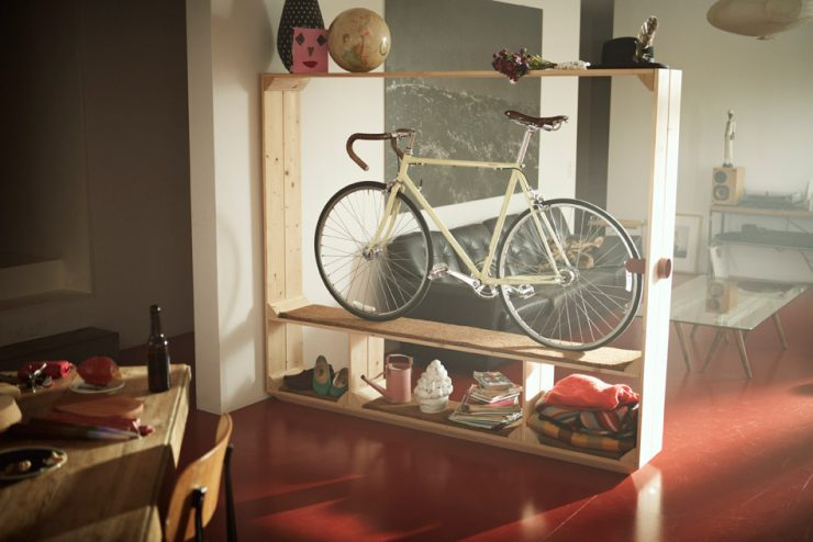 Bike as Room Divider
