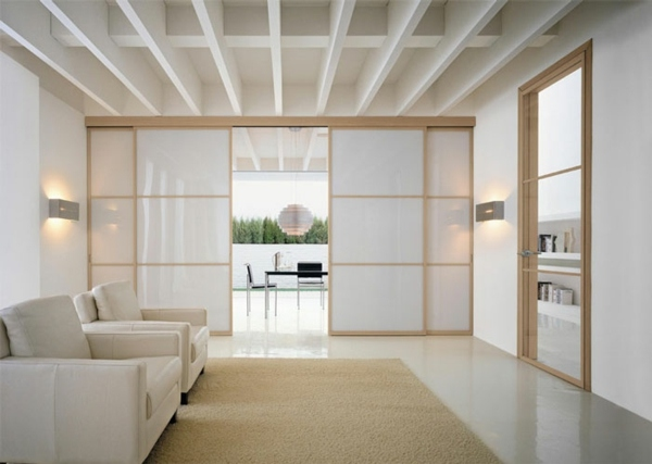 Shoji Sliding Door as Sliding Glass Door Alternative