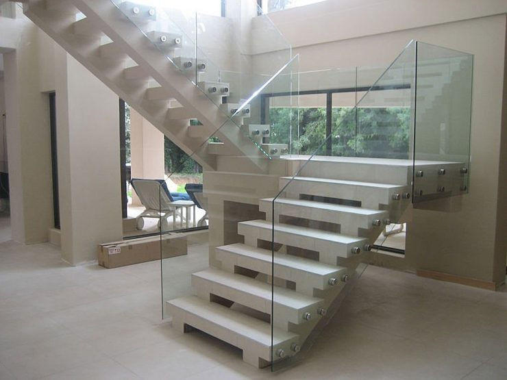 Clean, Modern Design Stairs