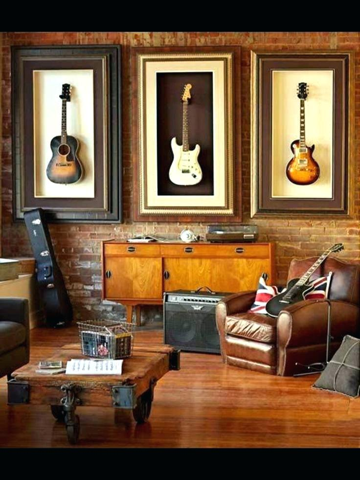 Charmant Brit Rock Inspired Music Room