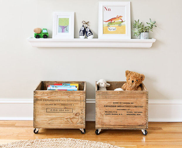 Toy Storage Crates