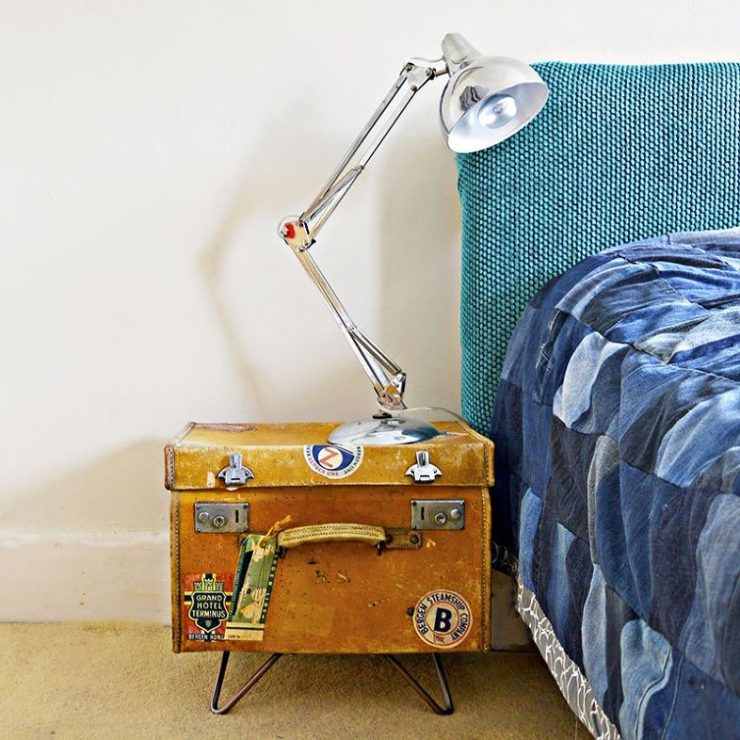 Suitcase with Lamp