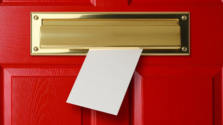 Types of Mailboxes: Mail Slot Outside