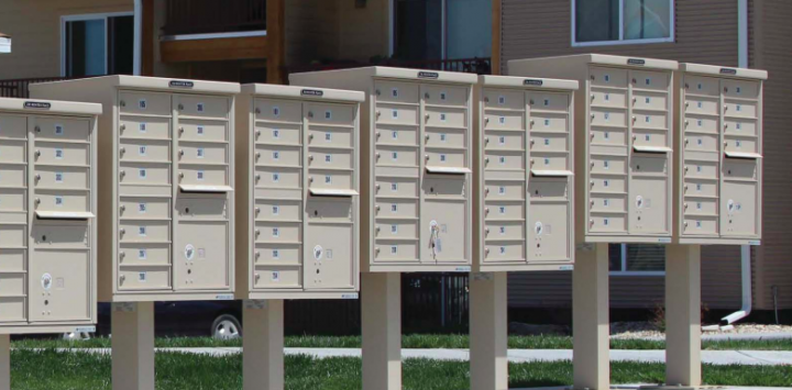 Types of Mailboxes: Apartment Outdoors